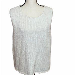 Coldwater Creek Knit Sweater Vest Size XL